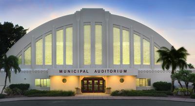 Sarasota Municipal Auditorium - front of building